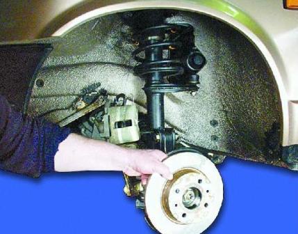 Как заменить подшипник ступицы переднего колеса ВАЗ-2109