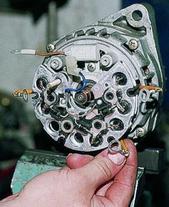Ремонт генератора ваз-21214