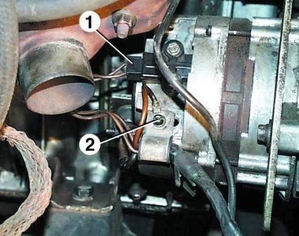 провода от генератора,