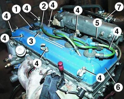 двигателя ЗМЗ-406. 1.