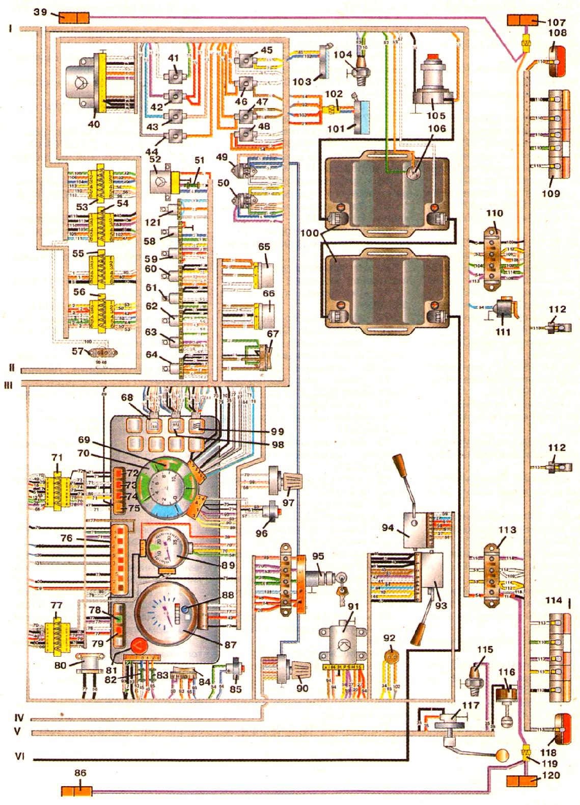 принципиальная схема подключения блока бук021