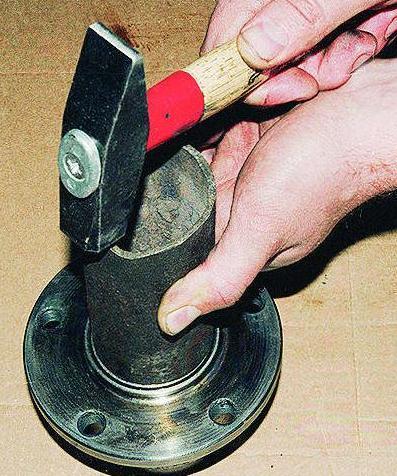 Как запрессовать подшипник ступицы своими руками