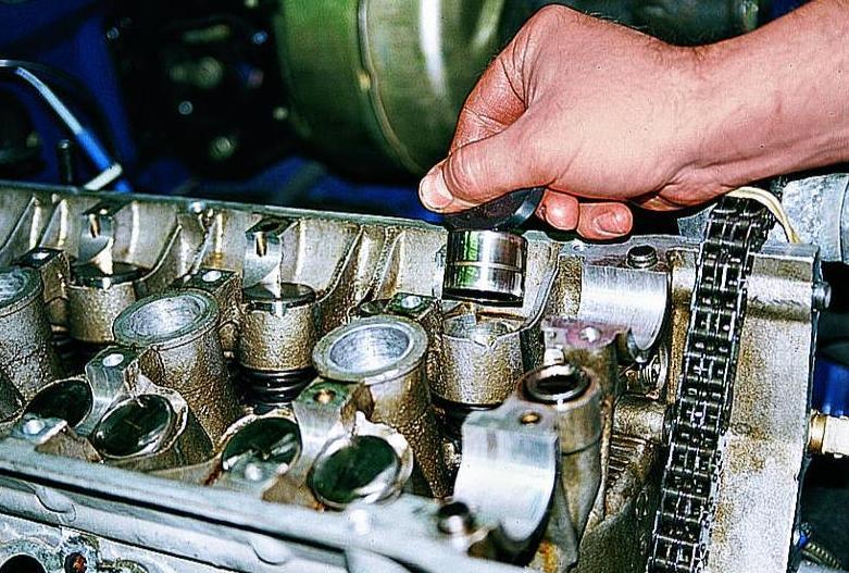 Как поменять гидрокомпенсаторы на 406 двигателе