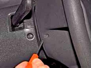 Снятие подушки безопасности пассажира лада гранта