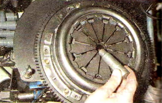Замена диска сцепления калина своими руками 55