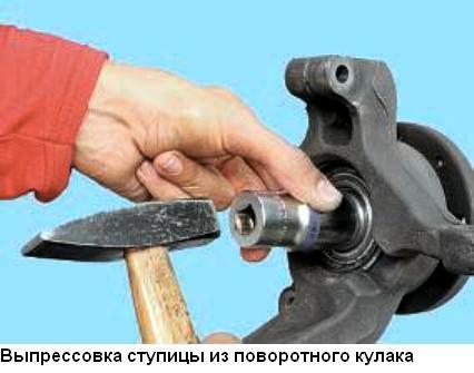 Замена подшипника на ступице рено меган 2
