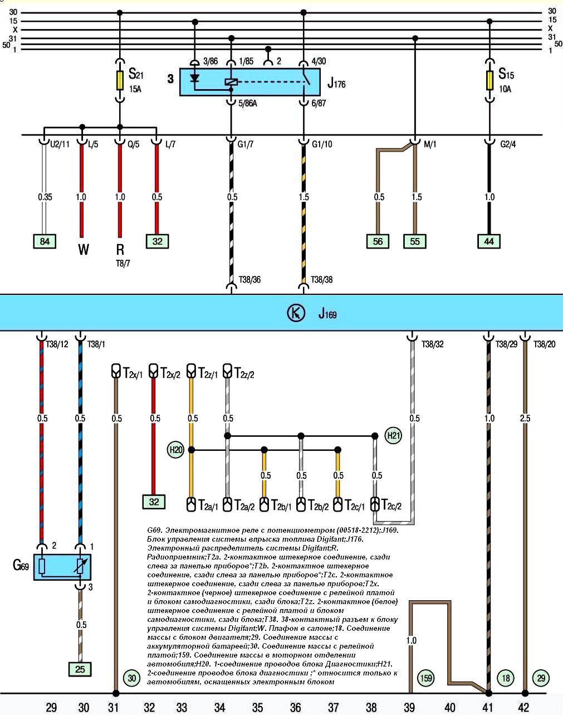 Схема главного переключатель