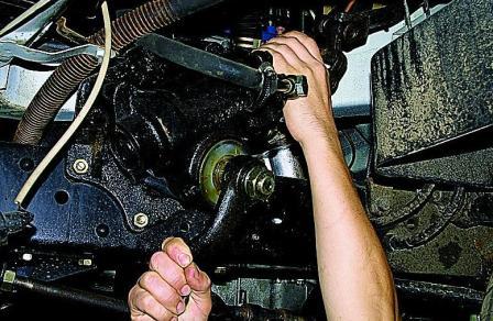 Ремонт рулевой своими руками на соболе 126