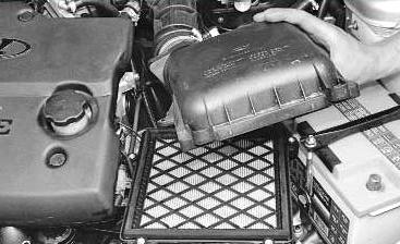 Фото №6 - как правильно ставится воздушный фильтр на ВАЗ 2110