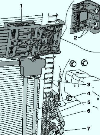 Установка дополнительного радиатора охлаждения акпп пассат б6
